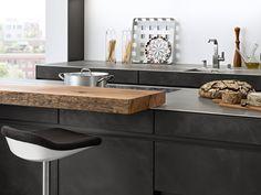 Leicht küchen beton  BONDI | VALAIS › Lack › Modern Style › Küchen › Küchen | Marken ...