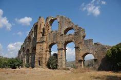 Das Viadukt von Aspendos