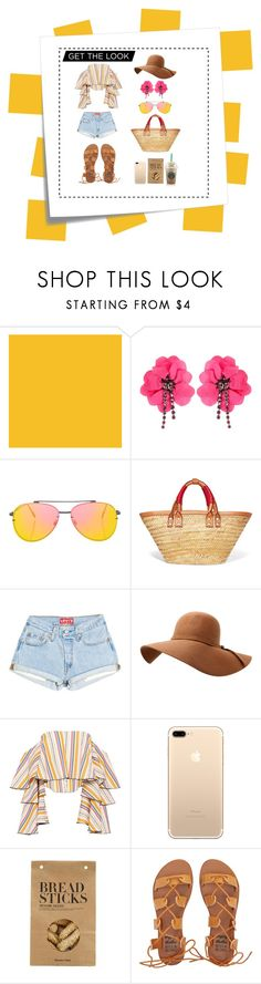 """#5"" by dyhkusumaw on Polyvore featuring Farrow & Ball, Post-It, Lanvin, Topshop, Balenciaga, Caroline Constas, Nicolas Vahé and Billabong"