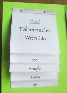 God tabernacles with us booklet Mormon Tabernacle, The Tabernacle, Feast Of Tabernacles, Christian Preschool, Jewish Festivals, Jewish History, Sunday School Crafts, Bible Crafts, Preschool Art