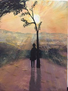Pictures To Paint, Sunset, Painting, Art, Art Background, Painting Art, Kunst, Paintings, Sunsets