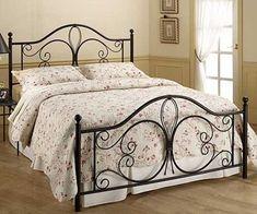 Wrought Iron Bed cama ferro forjado