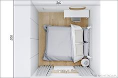 mała sypialnia w bloku Narrow Bedroom, Small Room Bedroom, Home Bedroom, Bedroom Decor, Fitted Bedroom Furniture, Fitted Bedrooms, Cute Furniture, Tiny Bedroom Design, Best Living Room Design