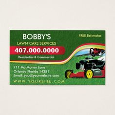 210 best lawn care business cards images on pinterest lawn care landscaping lawn care mower business card template wajeb Choice Image