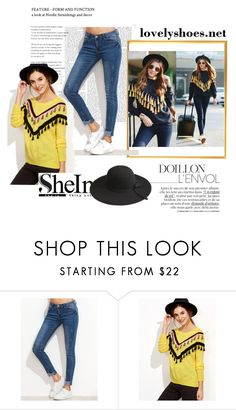 """""""SheIn 001"""" by ermina-camdzic ❤ liked on Polyvore featuring vintage and shein"""