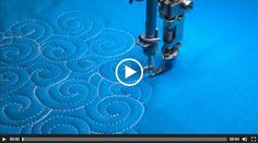 How to Free Motion Swirl Designs with Amanda Murphy - TheQuiltShow.com