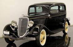 1934 Ford Victoria Tudor