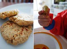 Bratlinge aus Kichererbsen - Fingerfood für Kleinkinder, mamablog, blw, breibrei, gesunde rezeot fuer babys, ekulele, kichererbsenpuffer (2)
