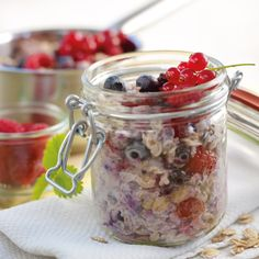 Porridge mit Waldbeeren Rezept | Weight Watchers