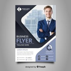 Design a professional flyer, brochure or poster by Monwarshahed Powerpoint Design Templates, Business Flyer Templates, Brochure Template, Graphic Design Brochure, Graphic Design Services, Template Free, Free Templates For Flyers, Cover Template, Modele Flyer