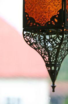 Moroccan lantern love!