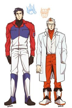 Optimus and Ratchet - HumanFormers. Again, usually I dislike humanized versions but....hello Optimus! xD