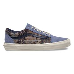 The Suede/Italian Weave Old Skool DX, the Vans classic skate shoe and first