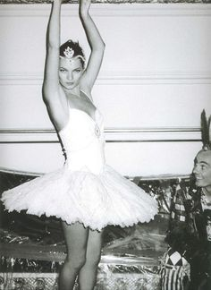 costume inspiration from Kate Moss