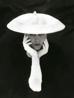 Anonymous Glamourous Woman, 1955