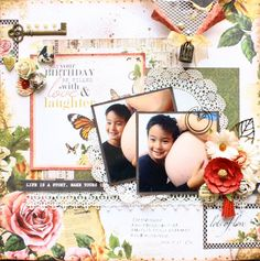 may+your+birthday+be+filled+with+love&laughter - Kaisercraft - Treasured Moments Collection