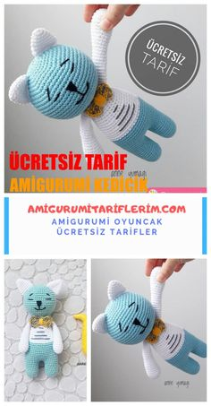 We continue to share with you the most beautiful patterns related to Amigurumi. In this article you are waiting for amigurumi pussycat kitten free pattern. Crochet Fox, Giraffe Crochet, Crochet Mouse, Crochet Patterns Amigurumi, Cute Crochet, Amigurumi Giraffe, Amigurumi Doll, Japanese Crochet Patterns, Crochet Granny Square Afghan