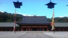 Kashiharajingu shrine's inner prayer hall is believed to be where Japan's first Emperor Jimmu ascended the throne. (Provided by Melissa Lim)