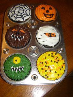 Halloween Cupkakes Halloween Cakes, Sugar, Animal, Desserts, Food, Cooking, Creative, Dekoration, Deserts