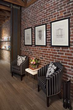 interior brick wall - Google Search