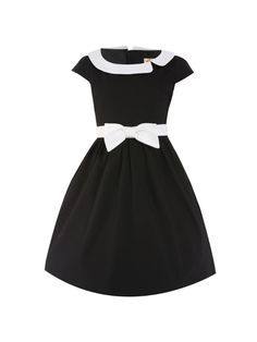 Retro šaty Lindy Bop Mini Chloe Black