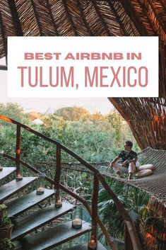 Where to stay in Mexico? Let me introduce you to the dreamiest Tulum Airbnb - for honeymooners, digital nomads & wanderers. Tree houses, jungle villas, beach condos, and chic rooms in Tulum town as well as Tulum Playa. As well as tips on how to book your Airbnb in Tulum. #mexico #tulumAirbnb in Tulum | Tulum Mexico Airbnb | Best Airbnb in Tulum | Rental houses in Tulum | Where to stay in Tulum | Tulum Accommodation | Where to stay on Tulum beach Mexico Trips, Tulum Mexico, Mexico Travel, Restaurant On The Beach, Tulum Beach, Mayan Ruins, Beach Condo, Baja California, Cozumel