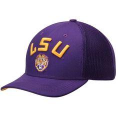 LSU Tigers Nike Performance L91 Mesh Back Swoosh Flex Hat - Purple - $25.99