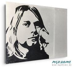 mobile Wandgestaltung in Betonoptik Popart Kunstwerk Bild Cobain Mobiles, Pop Art, Room Interior Design, Artworks, Pictures, Mobile Phones, Art Pop