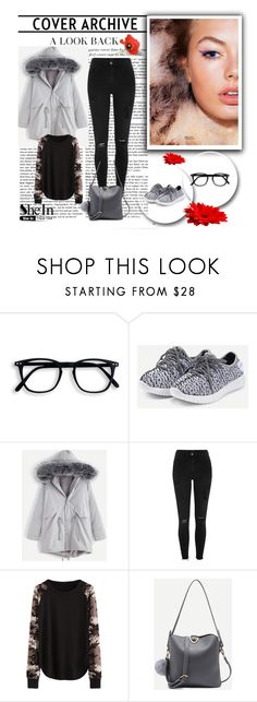 """""""SheIn 1/XI"""" by nermina-okanovic ❤ liked on Polyvore featuring River Island and shein"""