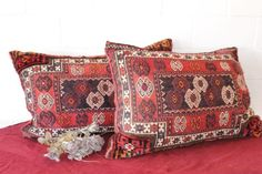 Other Textiles - Two incredible large (double sided) hand-stitched Berber Persian floor cushion in awesome condition for sale in Gauteng Floor Cushions, Hand Stitching, Persian, Conditioner, Textiles, The Incredibles, Throw Pillows, Flooring, Awesome