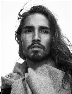 Photographer: Frederico Mart ins Styling: Nelly de Melo Gonçalves Hair: Rui Rocha MUA: Methta Gonthier Model: Willy Cartier @ Success Models Retouching: Lalaland Studios Willy Cartier, Long Hair Male Model, Pretty People, Beautiful People, Beautiful Things, Jackson, Raining Men, Attractive People, Wild Horses
