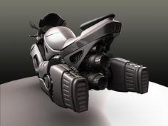 Sci-fi bike concept