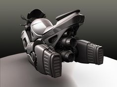 Sci-fi bike concept Futuristic Cars, Futuristic Motorcycle, Flying Car, Hover Bike, Hover Car, Motorized Bicycle, Concept Motorcycles, Cars And Motorcycles, Sci Fi Art