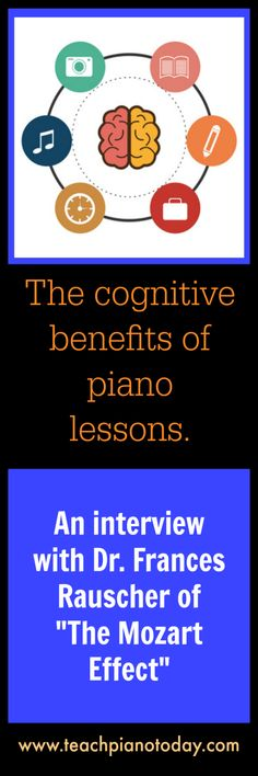 """An interview with Dr. Frances Rauscher, a Cognitive Scientist studying the effects of music on cognitive abilities - well known as the researcher behind """"The Mozart Effect""""."""