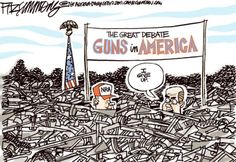 The Contributor | NRA Nonsense: Five Political Cartoons About Guns In America