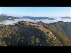 黒井城跡の日の出と雲海