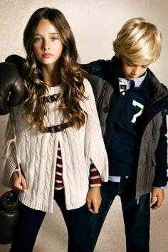 Moda de Ropa para niños de Massimo Dutti otoño-invierno 2012/2013