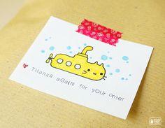 My doodle on paper bag #cute #kawaii #illustration