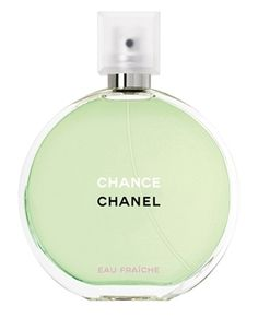 Chance Eau Fraiche by Chanel/ Top notes are lemon and cedar; middle notes are pink pepper, water hyacinth and jasmine; base notes are teak wood, iris, amber, patchouli, vetiver and white musk.