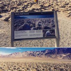 One of our favorite places in California is in @deathvalleynps: Devils Golf Course.  Besides not being an actual golf course it's also missing an apostrophe. (Either Devil's or Devils' would work.)  #deathvalley #devilsgolfcourse #california #apostrophe #grammar #nationalpark