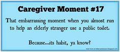 #Caregiver humor