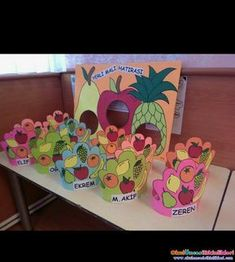 Top 40 Examples for Handmade Paper Events - Everything About Kindergarten Healthy Food Activities For Preschool, Kindergarten Activities, Preschool Activities, Creative Crafts, Diy And Crafts, Vegetable Crafts, Fruit Crafts, Crown For Kids, Fruits For Kids