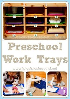 Home Preschool Work Trays {drawers, bins, boxes} featuring a winter theme centered around the book, The Mitten by, Jan Brett Preschool Centers, Preschool At Home, Preschool Kindergarten, Preschool Learning, Early Learning, Fun Learning, Preschool Activities, Learning Logo, Learning Goals