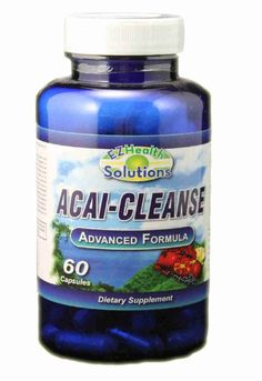 """Super Acai Cleanse Comprehensive #Cleansing & #WeightManagement Formula! *          Oprah's website described #Acai as """"one of the most nutritious and powerful foods in the world... """".   Read More : http://www.naturallysource.com/product_info.php?products_id=88 #Clonecleanser #herb #digestive"""