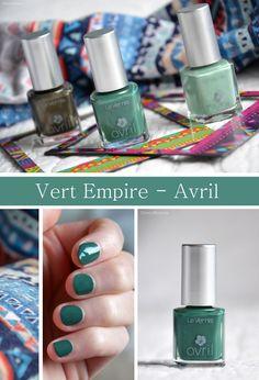 Vernis Vert Empire - Avril | CherryBlogssom