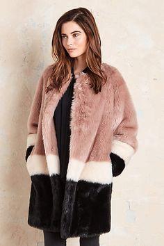 Anthropologie EU Pallenberg Faux Fur Coat by Maison Scotch. Amsterdam-based…