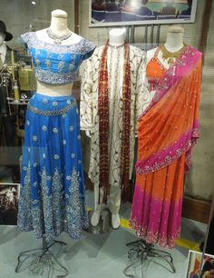 Loving these Bollywood costumes