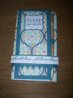 Juttas Bastelecke - das Kartenparadies: Notizblöcke