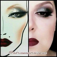 My job brazilian makeup artist winter inspiration for mac chart Mac Face Charts, Makeup Charts, The Make, Halloween Face Makeup, Winter, Artist, Inspiration, Winter Time, Biblical Inspiration