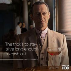 Nucky Thompson End of a great tv show. Brilliant, Brilliant show Terence Winter, Nucky Thompson, Empire Season, Steve Buscemi, Tv Show Music, Free Tv Shows, Atlantic City, Official Trailer, Staying Alive